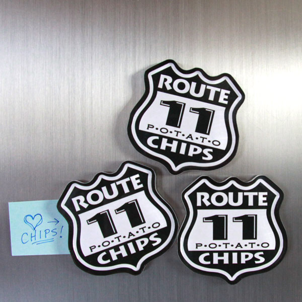 Route 11 Fridge Magnet