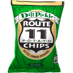Dill Pickle Chips Case