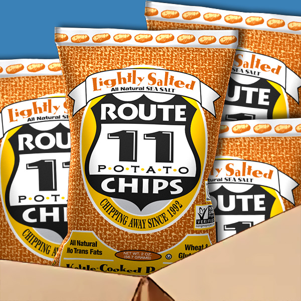 Lightly Salted Chips Case