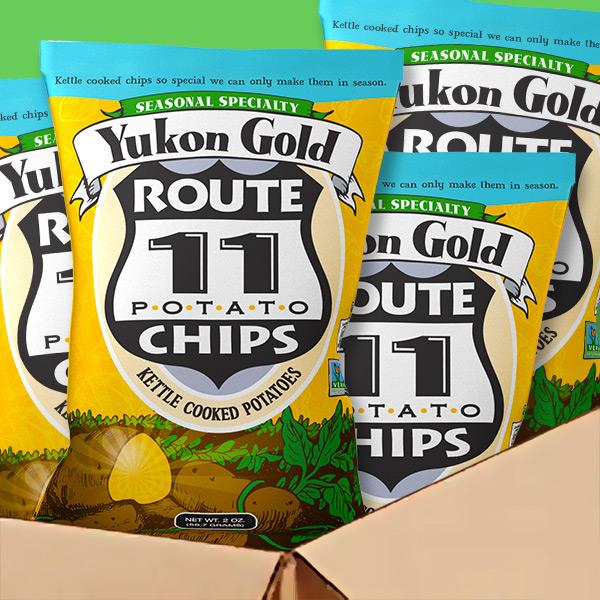Yukon Gold Chips Case
