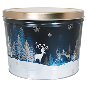 1.5 LB Crystal Evening Tin of Sour Cream N Chive