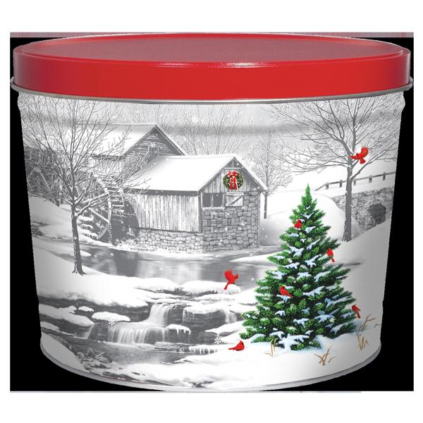 1.5LB Gristmill Tin of Salt & Pepper Chips
