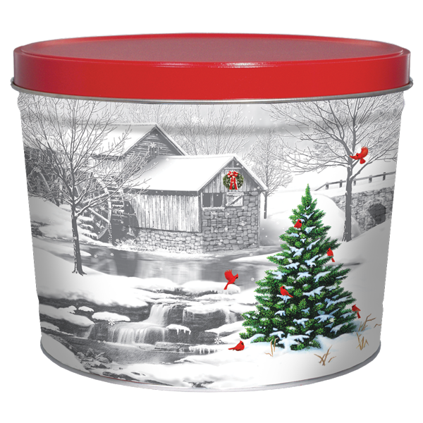 1.5 LB Gristmill Tin of Lightly Salted