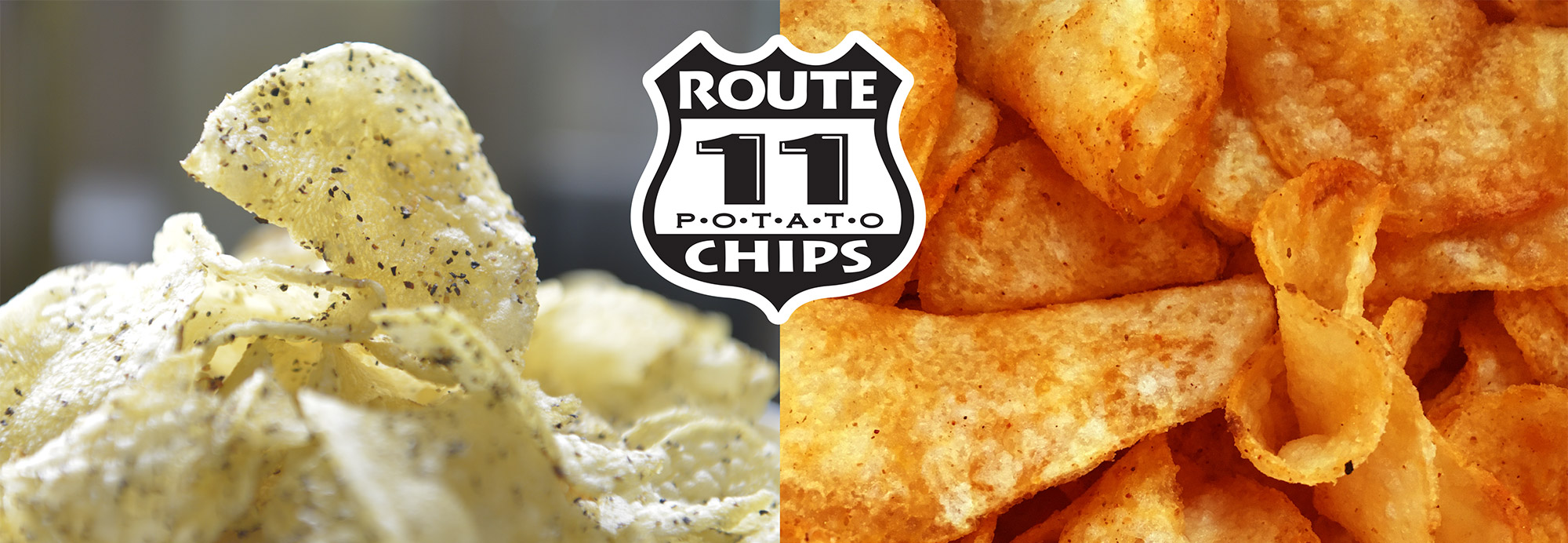 the crispy texture of Route 11 Chips