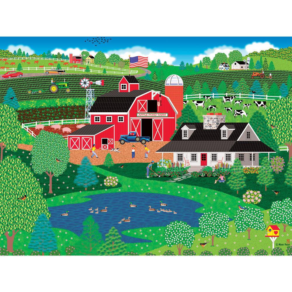 Apple Pond Spring 500 Piece Jigsaw Puzzle | Spilsbury