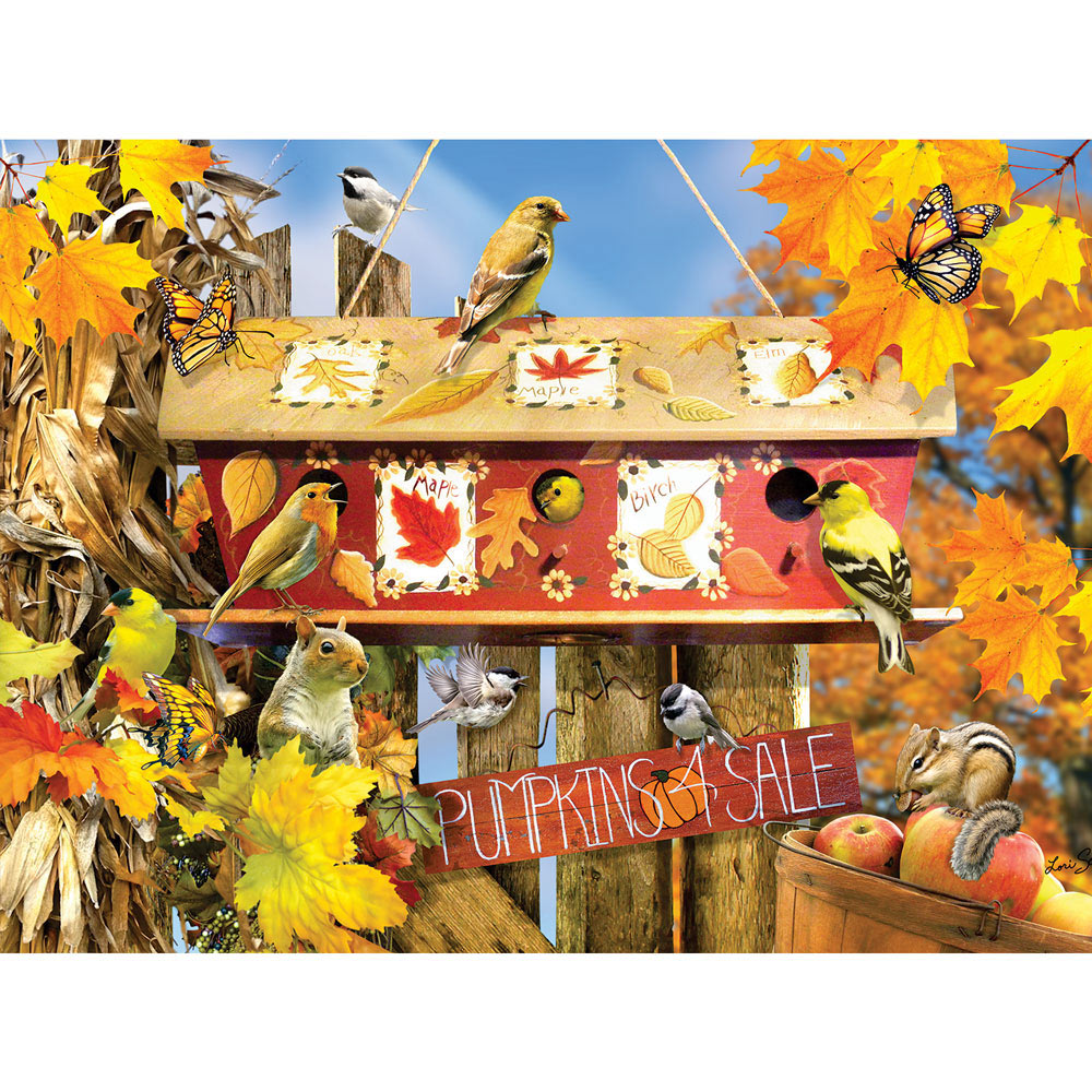 Fall Leaves 1000 Piece Jigsaw Puzzle Spilsbury