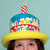 INFLATABLE BIRTHDAY HAT