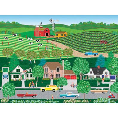 Sunshine Grocery 1000 Piece Jigsaw Puzzle