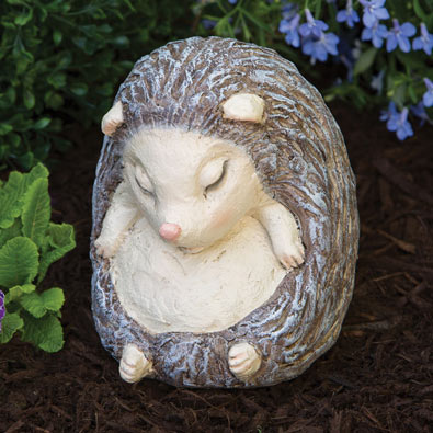 Sleeping Hedgehog Sculpture