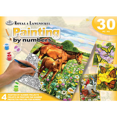 Paint by Numbers Activity Set