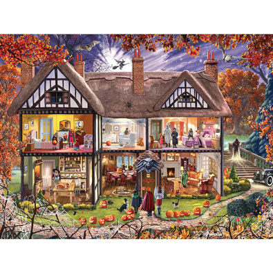Halloween House 1000 Piece Jigsaw Puzzle