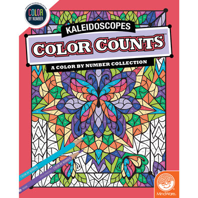 Kaleidoscopes Color Counts Book