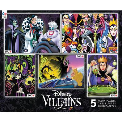 Disney Villains 5 in 1 Multipack Set