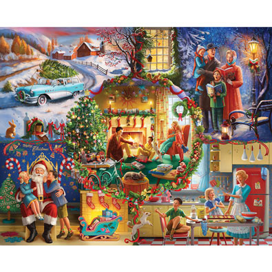 Christmas Traditions 1000 Piece Jigsaw Puzzle
