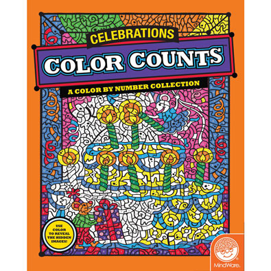 Color Counts Book - Celebrations
