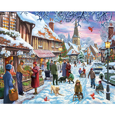A Nice Dusting 1000 Piece Jigsaw Puzzle