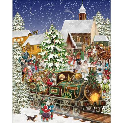 Christmas Train 1000 Piece Jigsaw Puzzle