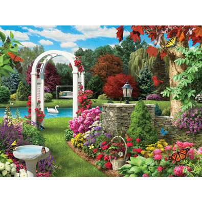 Glorious Garden 300 Large Piece Jigsaw Puzzle