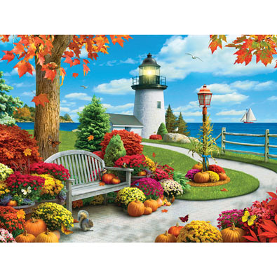 Autumn Sail 300 Large Piece Jigsaw Puzzle