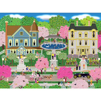 Victorian Town 300 Large Piece Jigsaw Puzzle