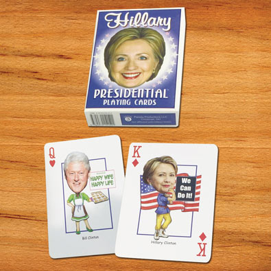 Hillary Clinton - Political Playing Cards