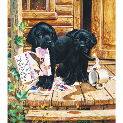 Cabin Fever 300 Large Piece Jigsaw Puzzle