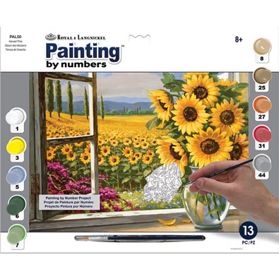 Painting by Numbers Summer Kit - Harvest Time