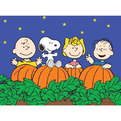 The Great Pumpkin 100 Piece Halloween Jigsaw Puzzle