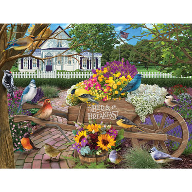 Bed and Breakfast 550 Piece Jigsaw Puzzle