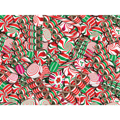 Holiday Candy 500 Piece Jigsaw Puzzle