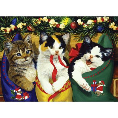 Christmas Kittens 1000 Piece Jigsaw Puzzle