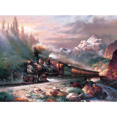 Canyon Railway 500 Piece Jigsaw Puzzle