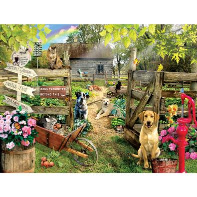 Summer Garden 1000 Piece Jigsaw Puzzle