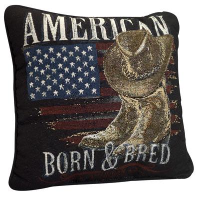 American Born & Bred Pillow