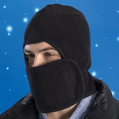 Black Fleece Hood