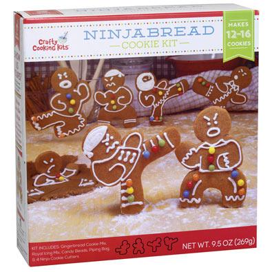 Ninja Bread Cookie Kit