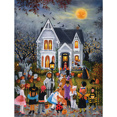 Scary Night 300 Large Piece Jigsaw Puzzle