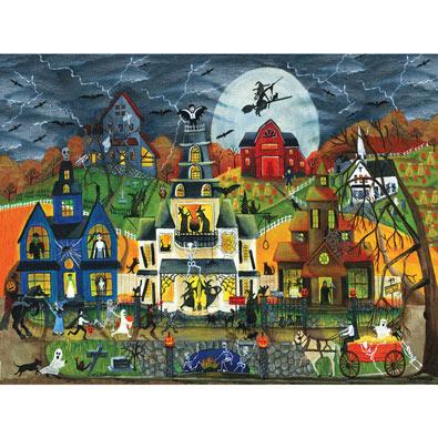 Spooky Street 300 Large Piece Jigsaw Puzzle