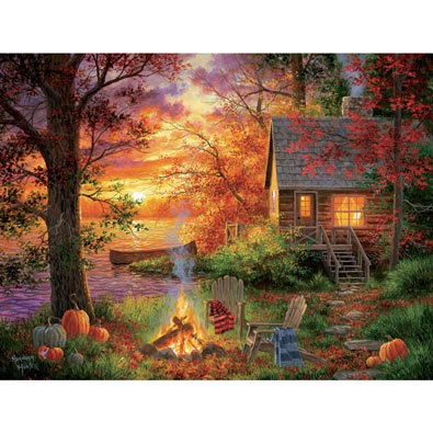 Sunset Serenity 300 Large Piece Jigsaw Puzzle