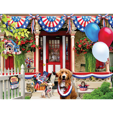 July 4th Parade 500 Piece Jigsaw Puzzle