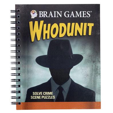 True Crime Whodunit Puzzle Book