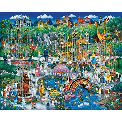 Victorian Zoo 300 Large Piece Jigsaw Puzzle