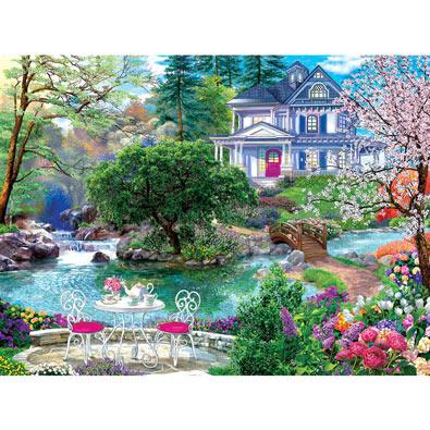 Waterside Tea 300 Large Piece Jigsaw Puzzle
