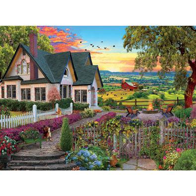 Hilltop View 1000 Piece Jigsaw Puzzle