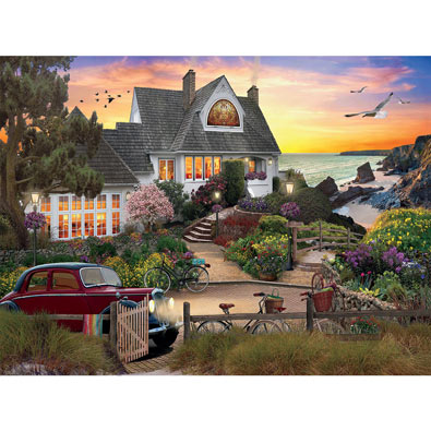 Seaside Hill 1000 Piece Jigsaw Puzzle