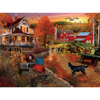 Country Inn & Farm 1000 Piece Jigsaw Puzzle