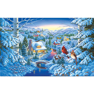 Winter Haven 300 Large Piece Jigsaw Puzzle