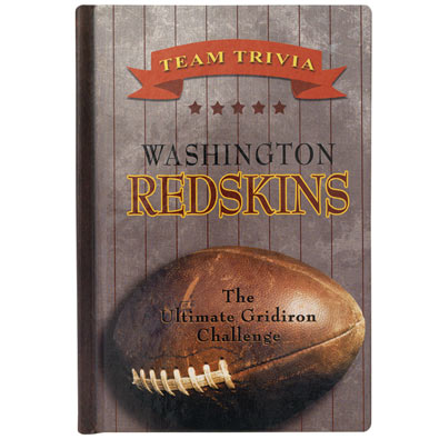 Team Trivia Books - Redskins