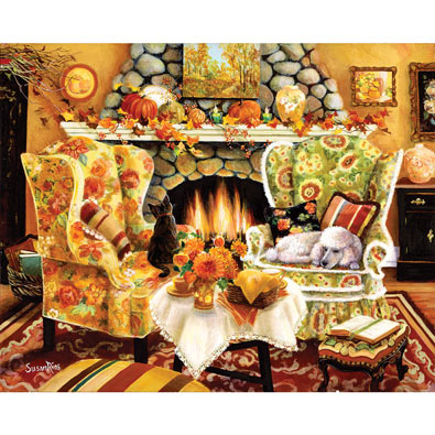 Autumn Warmth 300 Large Piece Jigsaw Puzzle