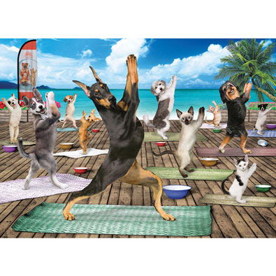 Yoga Spa 300 Large Piece Jigsaw Puzzle
